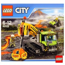 LEGO City Volcano Explorers Конструктор Вулкан: гусенична машина 60122